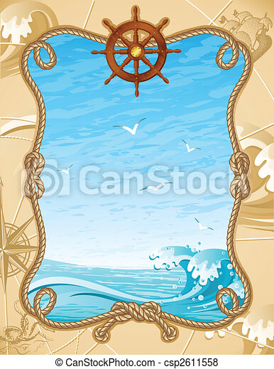 sailing background - csp2611558