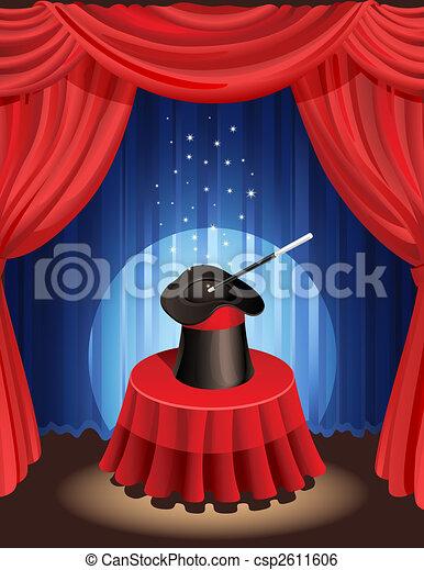 magic show - csp2611606