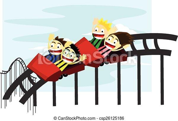 Roller Coaster Clip Art | Kavalabeauty