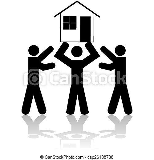 House win - csp26138738