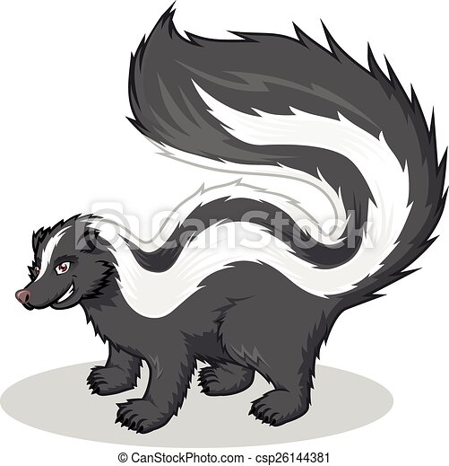 vector of striped skunk cartoon this image is a striped christmas polar bear clipart free Free Polar Bear Clip Art Black and White
