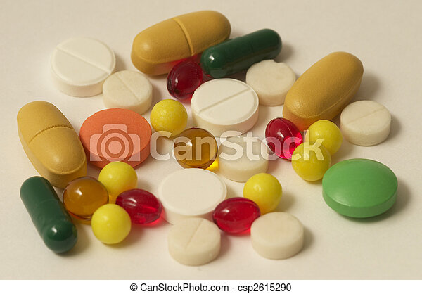Vitamin pills - csp2615290