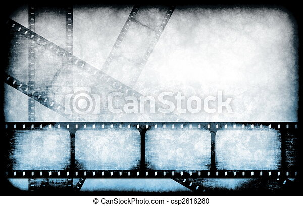 Movie Industry Highlight Reels - csp2616280