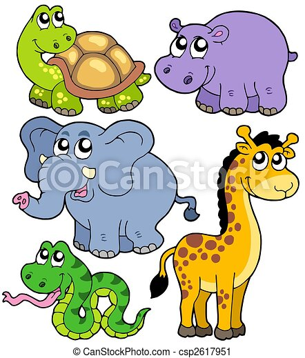 African animals collection 4 - csp2617951