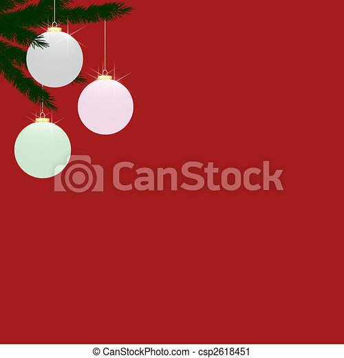 Frosted Glass Baubles