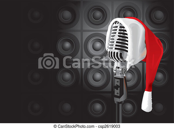 Christmas Music Event (vector) - csp2619003