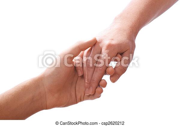 Reaching hands - csp2620212