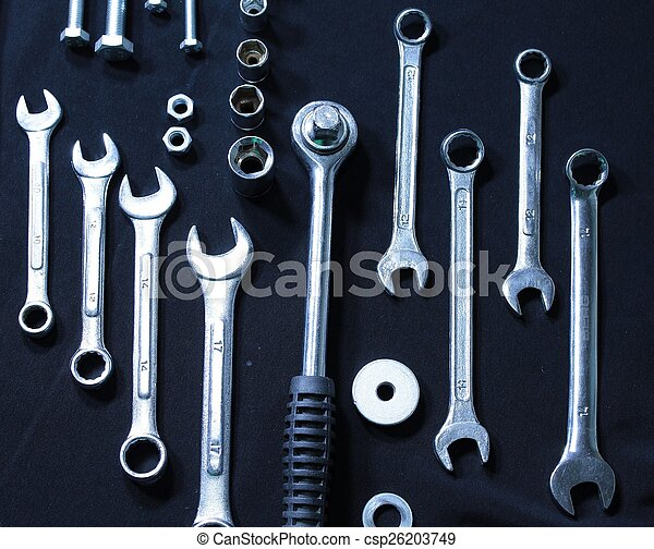Set of wrenches