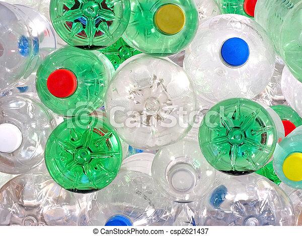 Plastic Beverage Bottles - csp2621437