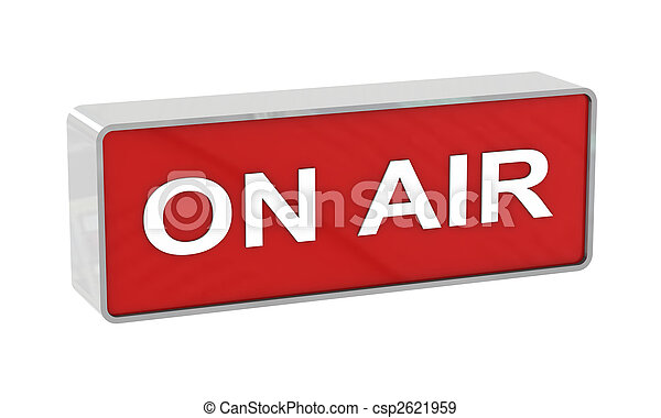 On air warning - csp2621959