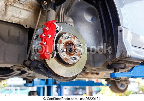 Front Disk brake assembly repair  - csp26229134