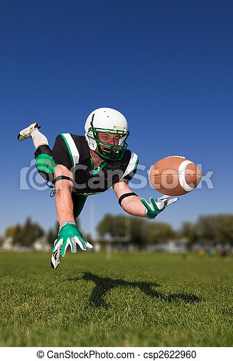 American football player - csp2622960