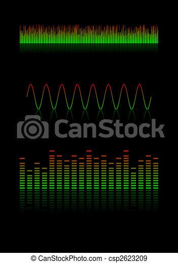 Sound waves - csp2623209