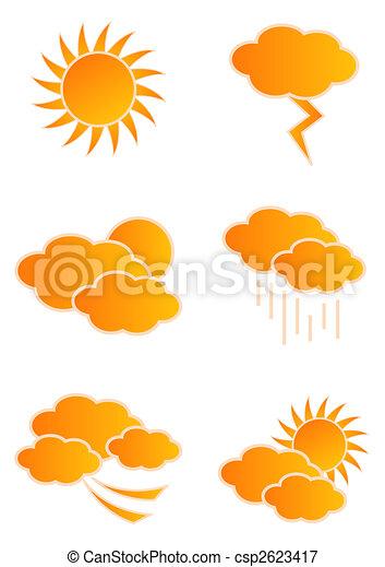 Weather Icons - csp2623417