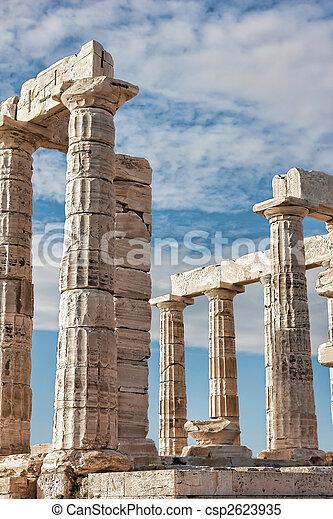 Poseidon's Temple - csp2623935