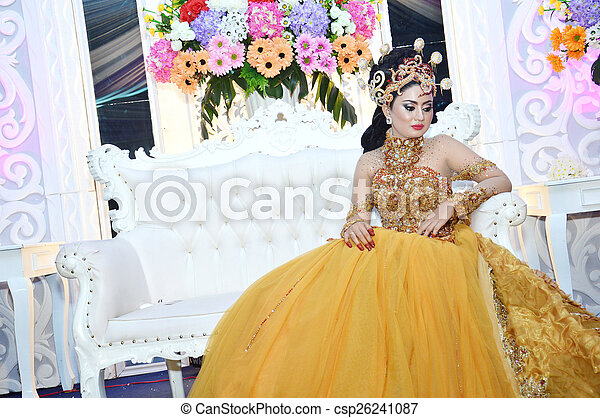 Indonesian bride - csp26241087