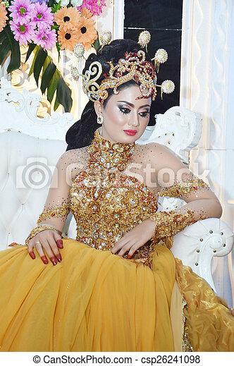 Indonesian bride - csp26241098