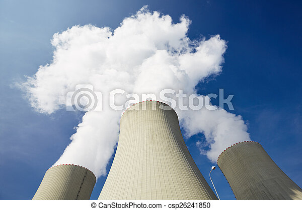 Nuclear power plant - csp26241850