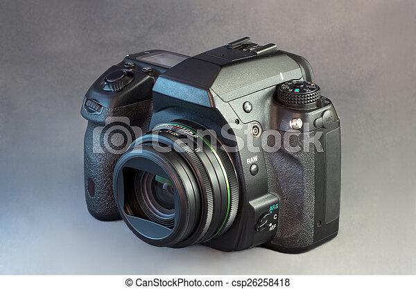 Digital SLR Camera and Wide Angle Lens