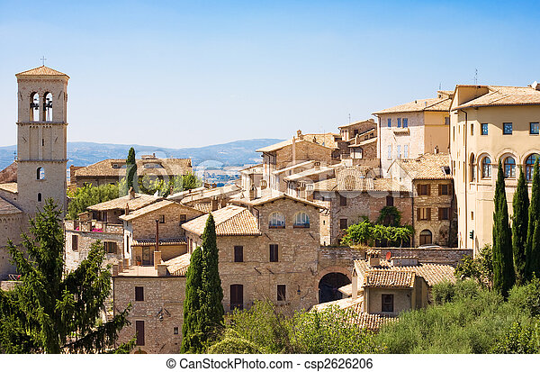 Traditional Italian city - csp2626206