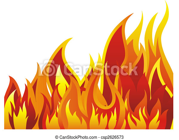 fire background - csp2626573