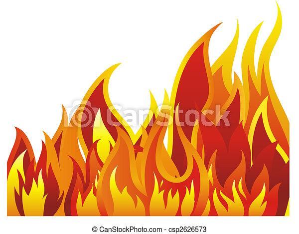 fire background - csp2626573