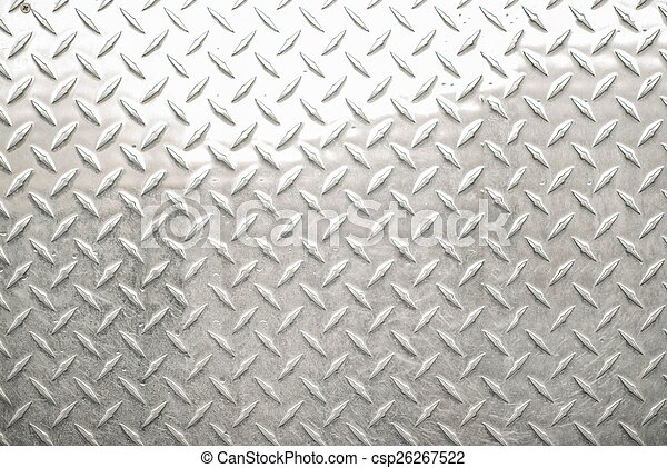 Diamond Metal Sheet Background