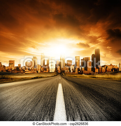 Urban Doom - csp2626836
