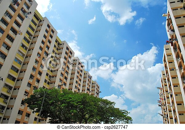 Public residential buildings - csp2627747