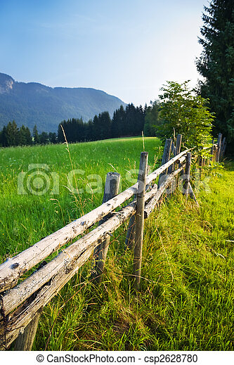 Alps traditional landscape - csp2628780