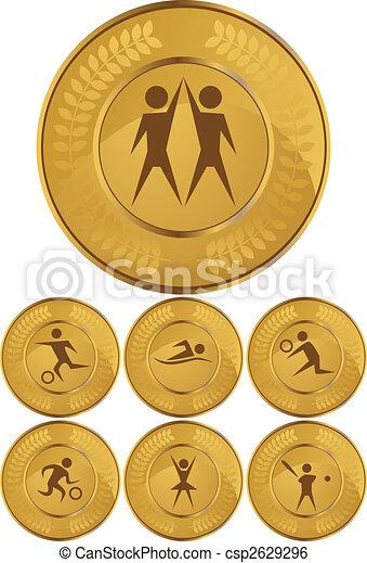 sport coin set - csp2629296