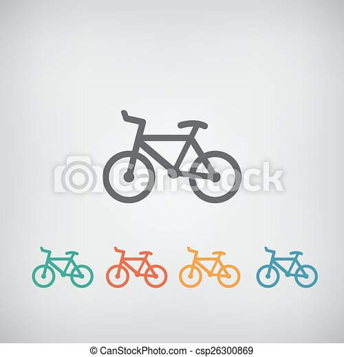 Simple bicycle illustration - photo#19