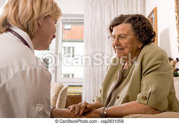 nursing home - csp2631059