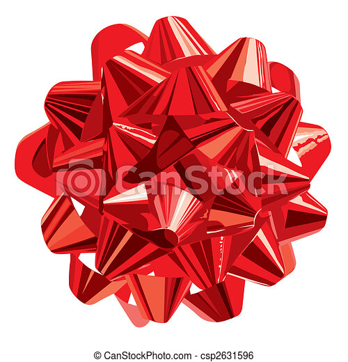 Gift Bow Clip Art Gift Bow  vector  clip art