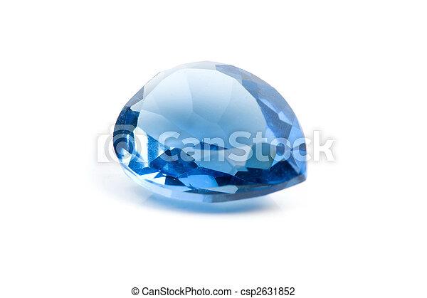 Aquamarine Gem - csp2631852