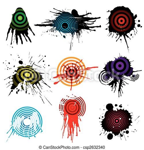 Target Aiming Grunge - csp2632340