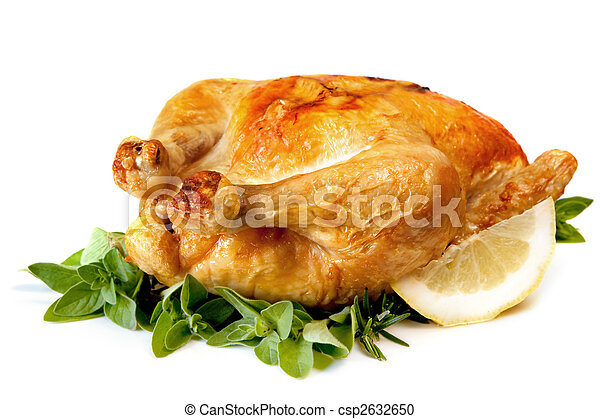 Roast Chicken - csp2632650