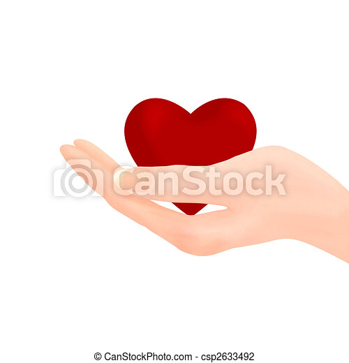 Hand Holding Heart Drawings Hand Holding Heart