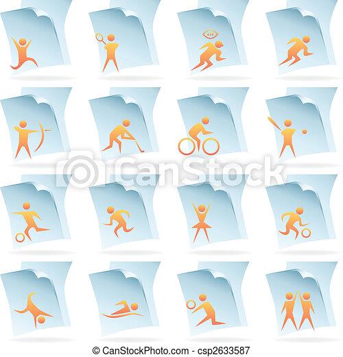 sports documents - csp2633587