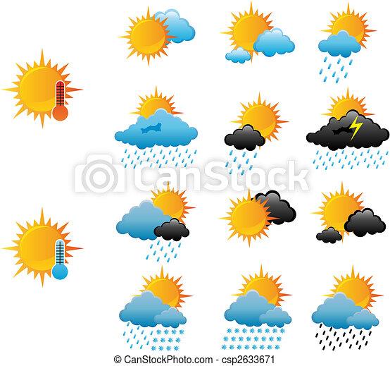 Weather icons - csp2633671