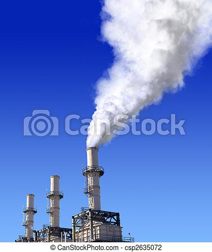atmospheric air pollution - csp2635072
