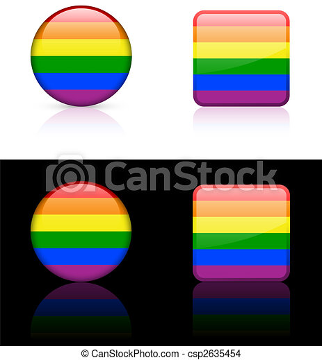 World flag series: Gay Pride - csp2635454