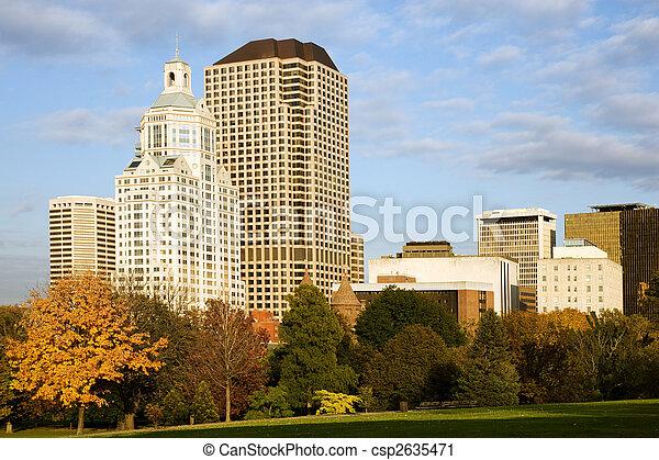 Hartford cityscape - csp2635471
