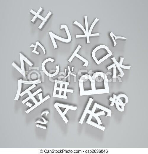 basic fonts - csp2636846
