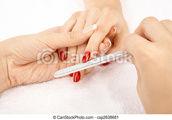 Care of nails - csp2638681