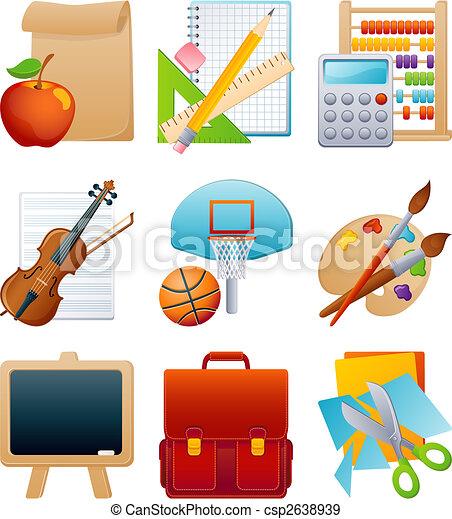 education icon set - csp2638939