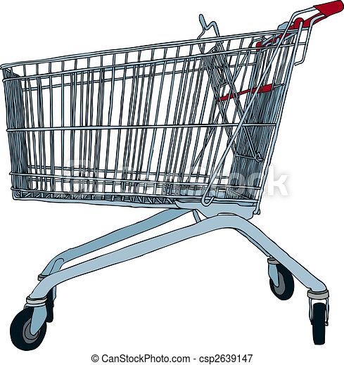 Shopping cart - csp2639147