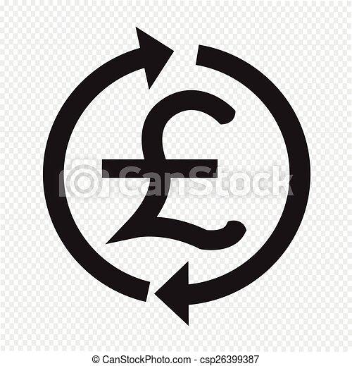 お金, ポンド, アイコン, GBP, 通貨, ... お金, ポンド, アイコン, GBP,