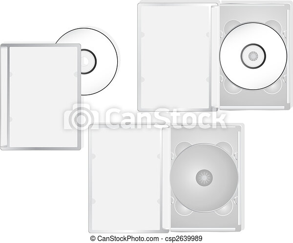 Multimedia DVD packaging - csp2639989