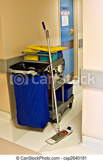 Cleaning trolley - csp2640181